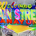 Welcome To Main Street Manayunk - Philadelphia by Bill Cannon