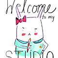 Welcome To My Studio by Ashley Lucas