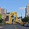 Welcome To Pittsburgh Pa by Frozen in Time Fine Art Photography