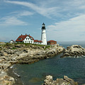 Welcome To Portland Head Light by Paul Mangold