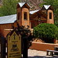 Welcome To Santuario De Chimayo by David Lee Thompson