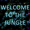Welcome To The Jungle - Neon Typography by Nicklas Gustafsson