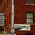 Welcome To The Main Street Of America by Susanne Van Hulst