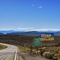 Welcome To Utah Sign On Hwy191 by Tatiana Travelways