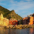 Welcome To Vernazza by Doug Sturgess