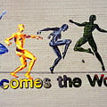 Welcomes The World Mural by Steve Ohlsen