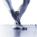 Well Loved Ballet Slippers by Scott Sawyer