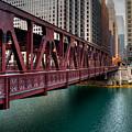 Well Street Bridge, Chicago by Nisah Cheatham