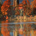 Wellesley College Galen Stone Tower by Juergen Roth