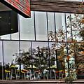 Wellesley College Wang Campus Center Detail by Modern Art