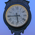 Wellesley Square Clock by Juergen Roth