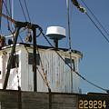 Wellfleet Fishing Boat Cape Cod Massachusetts by Michelle Constantine