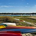 Wellfleet Harbor Cape Cod by John Greim