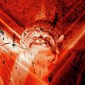 Wells Cathedral Gargoyles Color Negative D by Jacek Wojnarowski