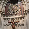Wells Cathedral Geocentric Clock by Lauri Novak