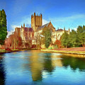 Wells Cathedral by Ronald Bolokofsky