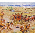 Wells Fargo Express Old Western by Susan Leggett