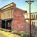 Wells Fargo Virginia City Nevada by Evelyne Boynton Grierson