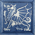 Welsh Dragon Panel by Joyce Hutchinson