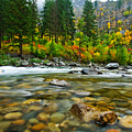 Wenatchee River by Dan Mihai
