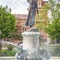 Wenonah Fountain Painting Effect by Kari Yearous