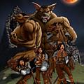 Werewolf Transformation by Scott Harshbarger