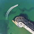 West Bay Pier Head by Kevin Lajoie