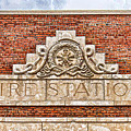 West Bottoms Fire Station Terracotta Dwc by Kevin Anderson