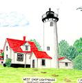 West Chop Lighthouse by Frederic Kohli