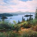 West Coast Harbor by E Colin Williams ARCA