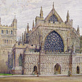 West Front, Exeter Cathedral by George Nattress