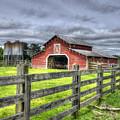 West Georgia Barn by Patrick Henrickson