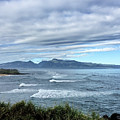 West Maui Mountains From Hookipa Beach by Frank DiMarco