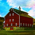 West Monitor Barn Vermont by Deborah Benoit