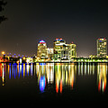 West Palm Beach Downtown Panoramic by Rene Triay Photography