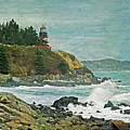 West Quoddy Head Lighthouse by Cindi Ressler