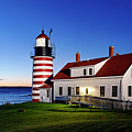 West Quoddy Lighthouse by John Greim