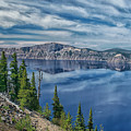 West Rim Of Crater Lake by Frank Wilson