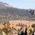 West Springs And Distant Garden Of The Gods by Steve Krull