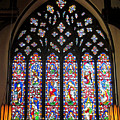 West Stained Glass Window Christ Church Cathedral 1 by Mark Sellers