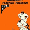 West Virginia 1925 Football Program by John Farr