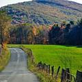 West Virginia Autum On Sandy Ridge by Teena Bowers