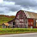 West Virginia Barn by Steve Harrington