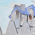 West Virginia Birdhouse by Sandy McIntire