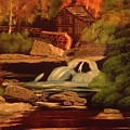 West Virginia Grist Mill by Tim Blankenship
