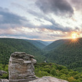 West Virginia Sunset From Lindy Point by Michael Ver Sprill