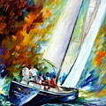 West Wind by Leonid Afremov