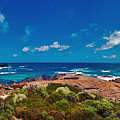Western Australia Beach Panorama by David Zanzinger