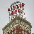 Western Auto 2 Lofts Building Kansas City Architecture Art by Reid Callaway