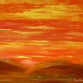 Western Skies by Dick Bourgault